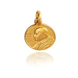 Medalik złoty. wizerunek święty Jan XXIII. 1,8 g Gold Urbanowicz