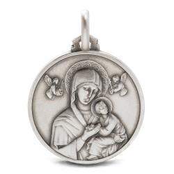 Matka Boża Nieustającej Pomocy Srebrny medalion 4.7 g, 21 mm, Gold Urbanowicz