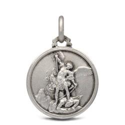 Gold Urbanowicz Michał Archanioł. medalik ze srebra, 18 mm, 3,2 g