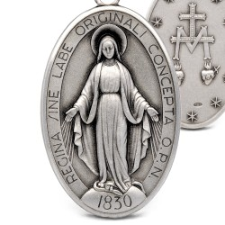 Cudowny Medalik srebrny. Cudowny Medalik MB Niepokalanej 9 g Gold Urbanowicz