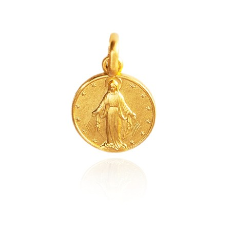 Najświętsza Maria Panna Niepokalanego Poczęcia, Złoty medalik, 18 mm 3,6 g