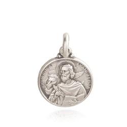 Święty Marek. Medalik srebrny. 3,2 g rozmiar medalika: 18mm, Gold Urbanowicz