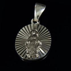 Srebrny Cudowny medalik. 2,20 g Szkaplerz.. Gold Urbanowicz