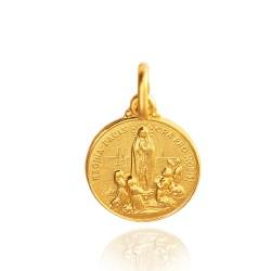 Matka Boska Fatimska. Malutki Złoty medalik 1.1 g Gold Urbanowicz shop online