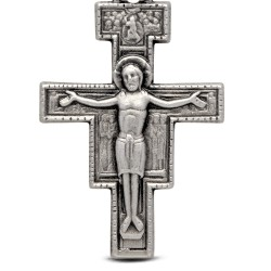 Shop online Gold Urbanowicz Srebrny Krzyż Świętego Damiana 4.65g