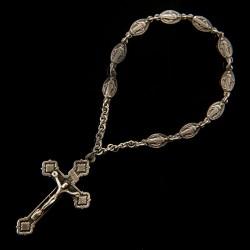 Srebrny różaniec. Dziesiątka różańcowa. 6,3 g Gold Urbanowicz