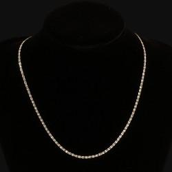 Łańcuszek ze srebra, próba 925. Długość 45 cm. 2.3 g