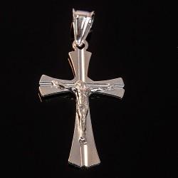 Lśniący srebrny krzyżyk. 2,5 g Gold Urbanowicz