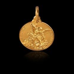 Święty Michał Archanioł. Złoty medalik 2,2 g