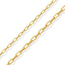 Złoty łańcuszek,  elegancki, 42 cm  4,5 g