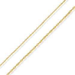 Złoty łańcuszek na Komunię, 42 cm 1,3 g