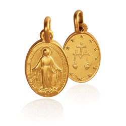 Cudowny Medalik. Szkaplerz. Złoty medalik. 2,4 g Gold Urbanowicz