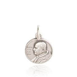 Medalik srebrny. wizerunek święty Jan XXIII. 1,4 g Gold Urbanowicz