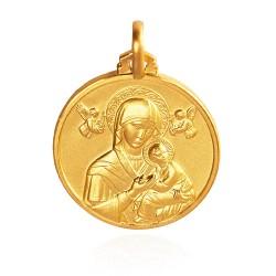 Matka Boża NIeustającej Pomocy. Patronka ludzi potrzebujących szczególnej opieki 18 mm, 4.0 g Gold Urbanowicz