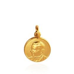Święty Jan Bosko. Złoty medalik. 12 mm 1,7 g Gold Urbanowicz