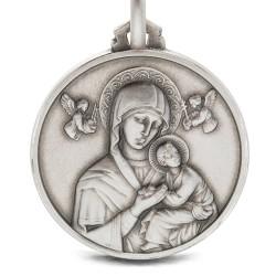 Matka Boża Nieustającej Pomocy Srebrny medalion 7.2 g, 25 mm, Gold Urbanowicz