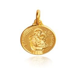 Święty Antoni 4,1g, 18mm Złoty medalik Gold Urbanowicz.