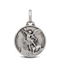 Michał Archanioł. 2,5 g 16 mm Medalik ze srebra oksydowanego. Gold Urbanowicz.