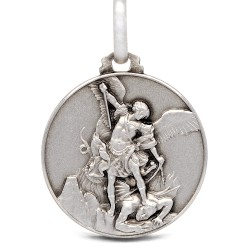 Gold Urbanowicz Michał Archanioł. medalik ze srebra, 21mm, 4,9 g