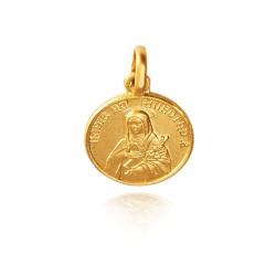 Święta Katarzyna. 3,8 g 18mm, Złoty medalik Gold Urbanowicz