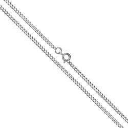 Łańcuszek srebrny. Gold Urbanowicz, długość łańcuszka 55 cm.