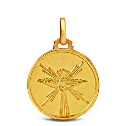 Duch Święty, 18mm, Złoty medalik na Bierzmowanie Gold Urbanowicz