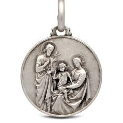Shop online Duży Srebrny medalik Rodzina Święta. 21 mm 4.6g Gold Urbanowicz