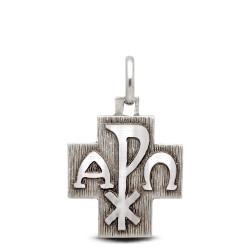 Shop online Gold Urbanowicz  Krzyż  ze srebra Α i Ω i PX 2,15g  Silver Cross
