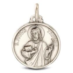 Święty Tadeusz Juda. Medalik ze srebra oksydowanego. 25mm, Medalik Judy Tadeusza. Gold Urbanowicz