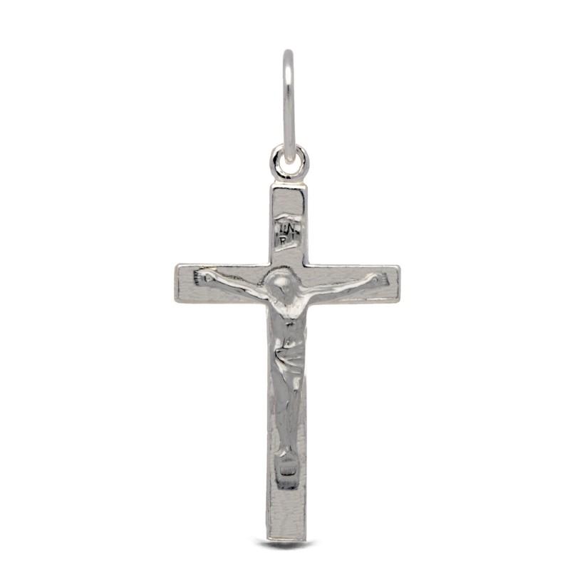 Krzyżyk srebrny. Lśniący . Gold Urbanowicz 2,2 g