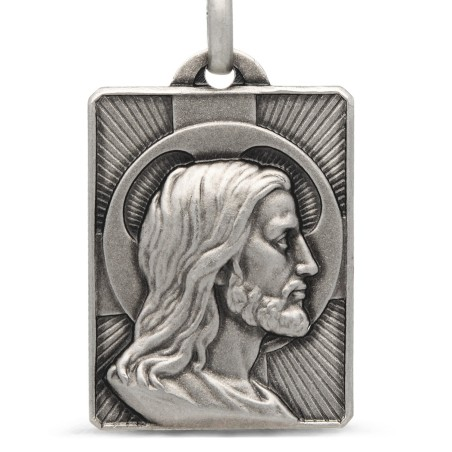 Duży medalion z twarzą Jezusa 6,5 g
