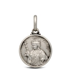 Gold Urbanowicz, Święta Agata, medalik srebrny, 14mm, 1,9 g
