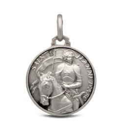 Gold Urbanowicz, Święta Joanna d'Arc, medalik srebrny, 18mm, 3,2 g