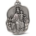 Matka Boska Szkaplerzna. Szkaplerz Karmelitański. 8,9 g Medalik ze srebra oksydowanego. Gold Urbanowicz