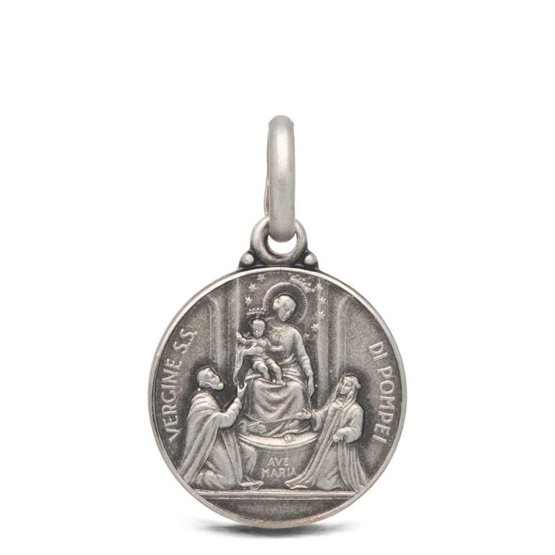 Medalik Matki Bożej Pompejańskiej, 14mm, 1,85 g Gold Urbanowicz- shop online