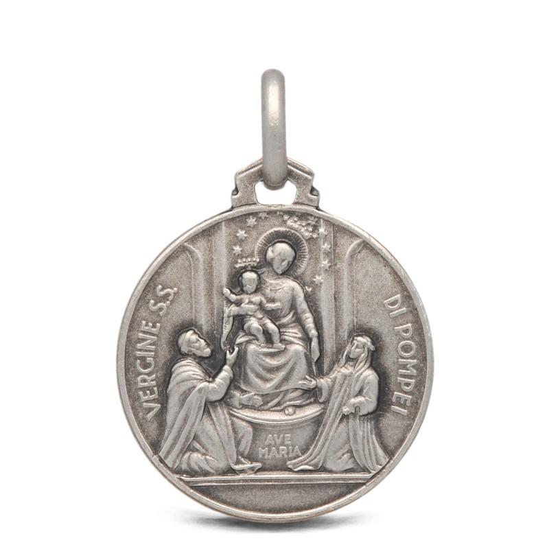 Medalik Matki Bożej Pompejańskiej, 18mm, 2,95 g Gold Urbanowicz- shop online