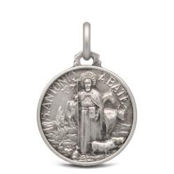 Medalik srebrny św Antoniego Abate- 18mm 3,0g