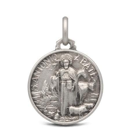 Medalik srebrny św Antoniego Abate 18mm 3,0g