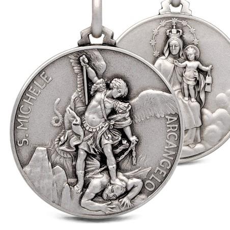 Szkaplerz św Michała Archanioła 25 mm, 8,6 g