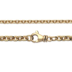Łańcuszek złoty, 18K, 60 cm, 8,4 g