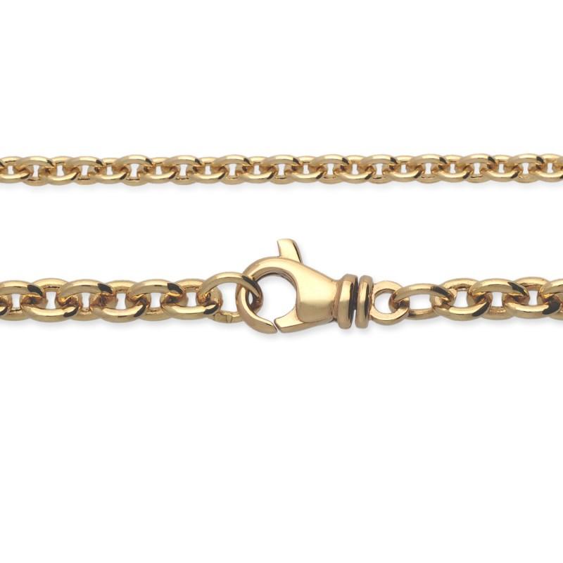 Łańcuszek złoty, 18K, 60 cm, 12,1 g