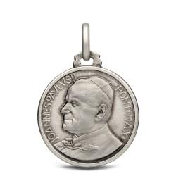 Święty Jan Paweł II. Medalik świętego Jana Pawła II. Medalik ze srebra. 3,3 g