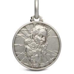 Medalik srebrny Trójcy Świętej, Gold Urbanowicz 21mm, 4.6g