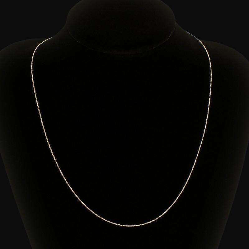 Piękny Łańcuszek ze srebra. 2.20 g 45 cm Łańcuszek wykonany ze srebra o próbie 925