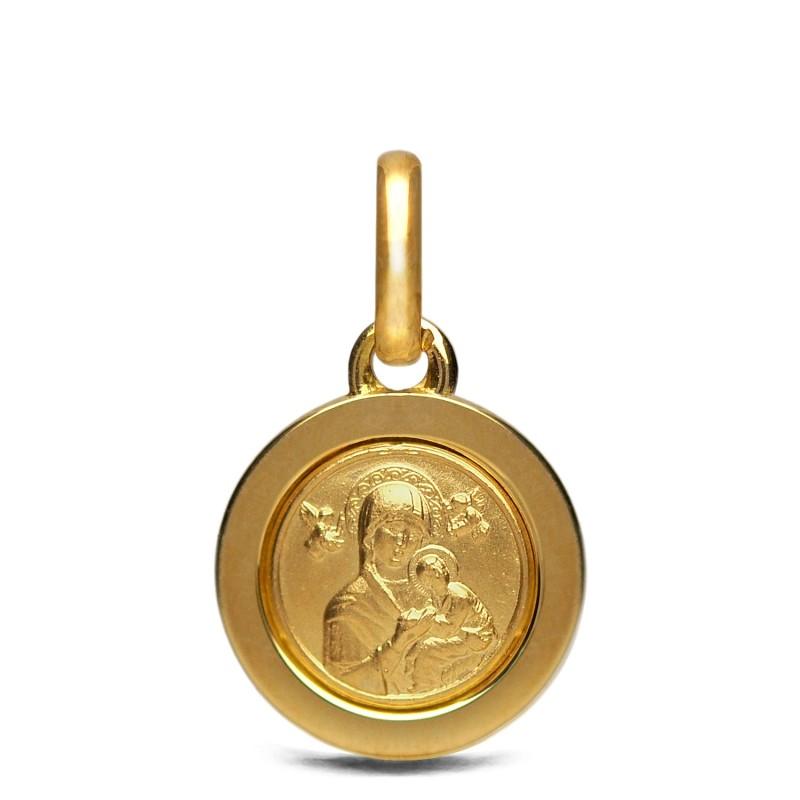 Matka Boża Nieustającej Pomocy 3,8g Złoty medalik. Gold Urbanowicz