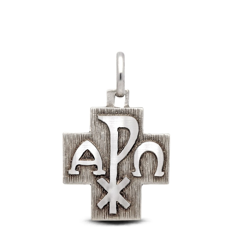 Shop online Gold Urbanowicz  Krzyż  ze srebra Α i Ω i PX 6,45g  Silver Cross