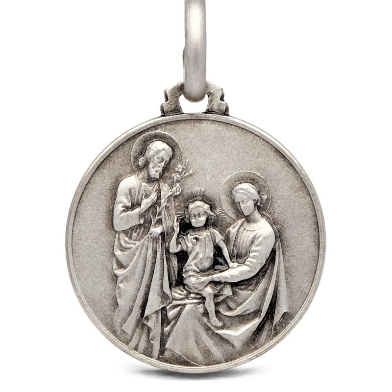 Shop online Duży Srebrny medalik Rodzina Święta. 25 mm Gold Urbanowicz
