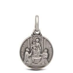 Medalik Matki Bożej Pompejańskiej, 21mm, 4,6g Gold Urbanowicz- shop online