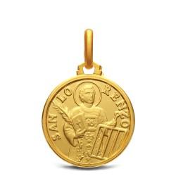 Złoty medalik ze Świętym Wawrzyńcem. Sklep Gold Urbanowicz