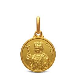 Gold Urbanowicz, Święta Agata, medalik złoty, 14mm, 2,2 g